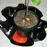 Make Planters With Old Record Albums