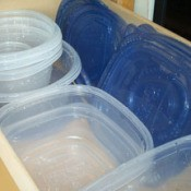 Organizing Tupperware in Your Cupboard