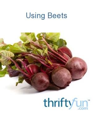 Using Beets Thriftyfun