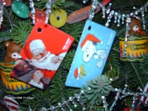 gift card ornaments