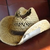 My Frugal Husband's Straw Hat