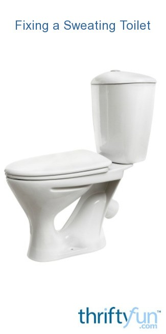 Fixing A Sweating Toilet Thriftyfun