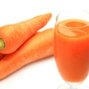 Freezing Carrot Juice