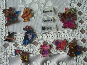 Finished Shrinky Dinks
