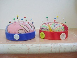 Jar Lid Pincushion
