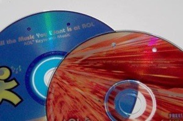 Recycled CD Notepad