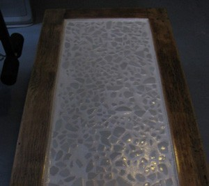 Craft Project: Recycled Mosaic Coffee Table