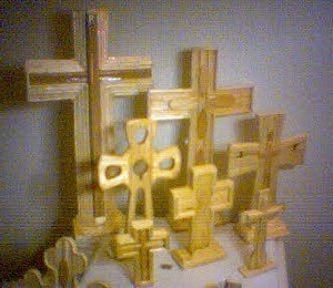 Various style crosses.