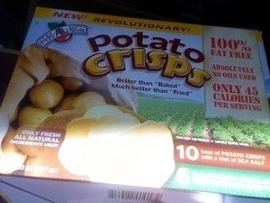 package potato crisps