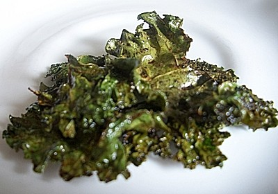 Lime Kale Chips