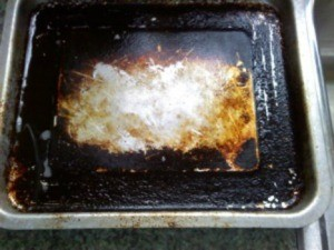 Burnt Cookie Sheet