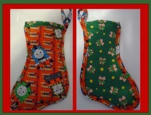 Padded Fabric Stocking