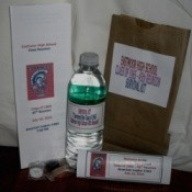 Class Reunion Survival Bag Favor