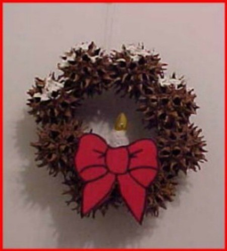 Sweet Gum Mini-Wreath