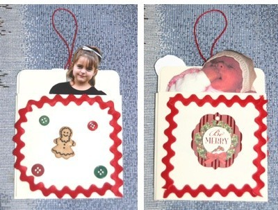 Book Pocket Ornament