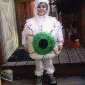 Eyeball Costume