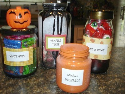 Spooky Candy Storage
