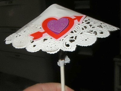 Valentine umbrella