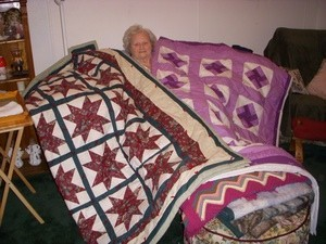 two finished quilts