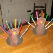 turkeycolor pencil or marker holder