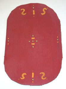 Homemade Roman Warrior Shield For Kids