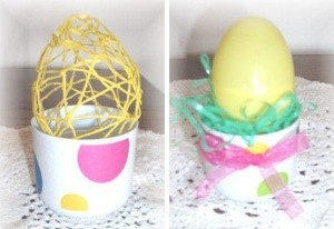 how to make an easter bonnet out of recycled materials