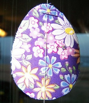 Easter Egg Curtain