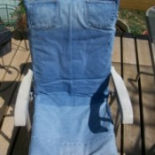 chair covers made from jeans