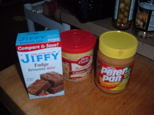 Jiffy Spiffy Brownies
