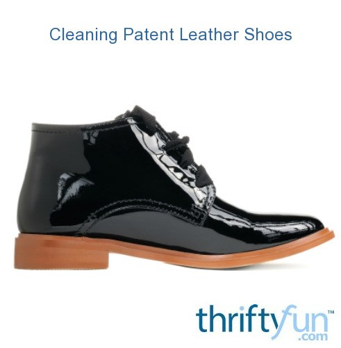 Cleaning Patent Leather Shoes Tips