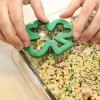 Shamrock Shaped Treats