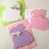 Finished cards and envelopes.