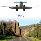 Driving vs. Flying