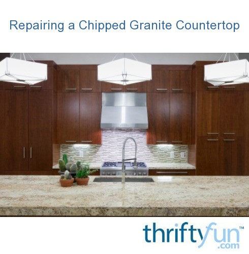 Granite Countertop Edge Chip Repair : Repairing a Chipped Granite Countertop ThriftyFun