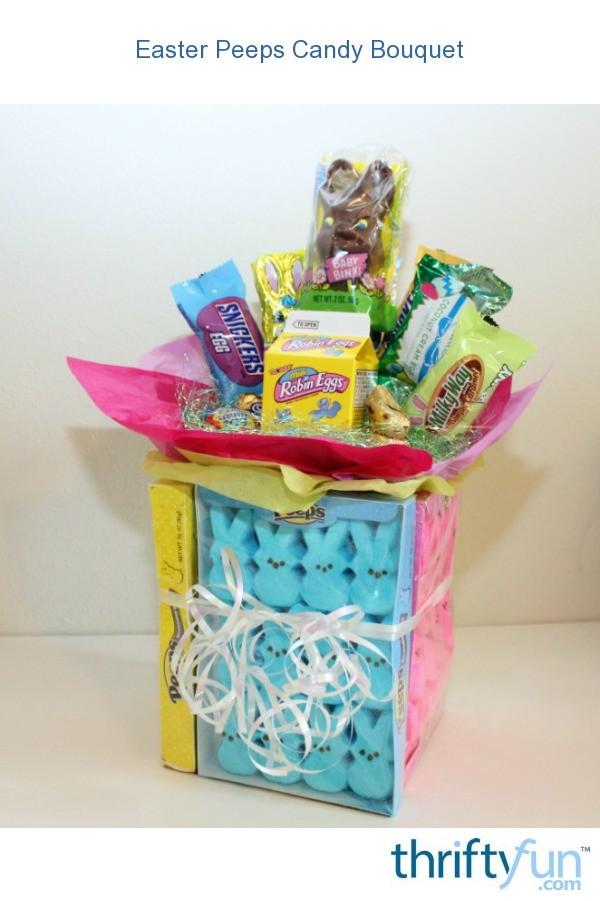 Easter Peeps Candy Bouquet ThriftyFun