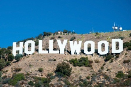 The Hollywood sign in Hollywood, California