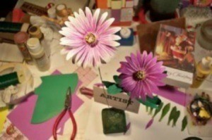 Making Paper Daisies