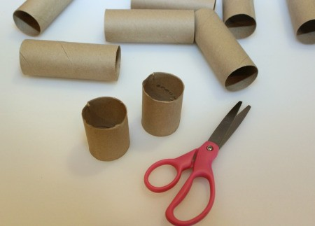 tp tubes and scissors