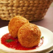 Italian Rice Ball or Arancini