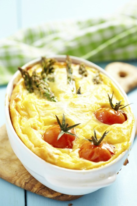 Baked Egg in Casserole Dish