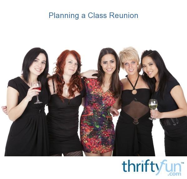planning a class reunion