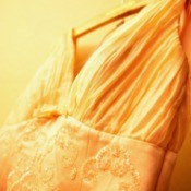 Yellowed Wedding Dress
