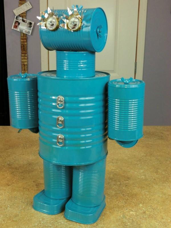 Making A Tin Can Robot Thriftyfun