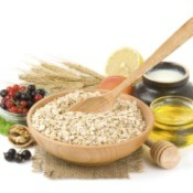 Oatmeal and Recipe Ingredients