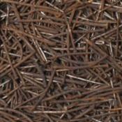 Photo of rusty nails.