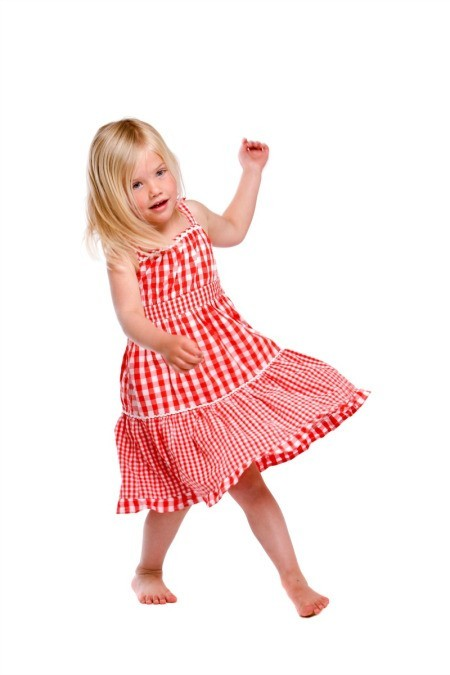 5 year old dancing