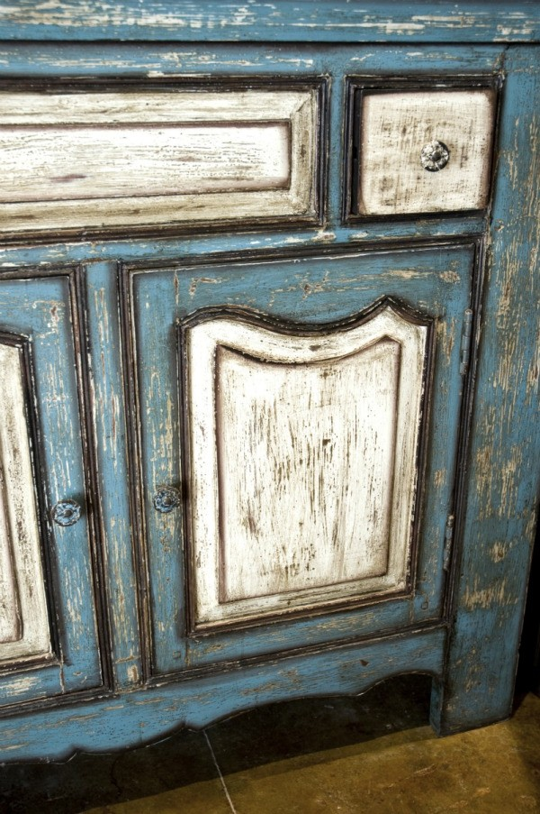 Giving furniture a distressed look thriftyfun for Distressed furniture