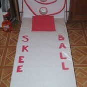 Valentine Skee Ball Game