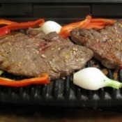 Steaks on George Foreman Grill