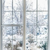 Insulated Winter Window